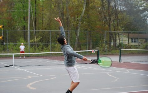 Boys tennis win against Lincoln-Sudbury