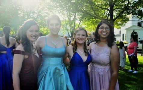 (2019) Seniors Victoria Morrison, Marisol Evans-Garcia, Jess Cornetta, and Namitha Nair