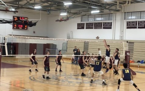 Boys' Volleyball beats Acton-Boxboro 2-1