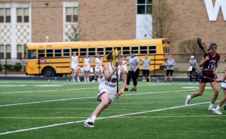 Abby+Katz+makes+an+attack+for+college+lacrosse