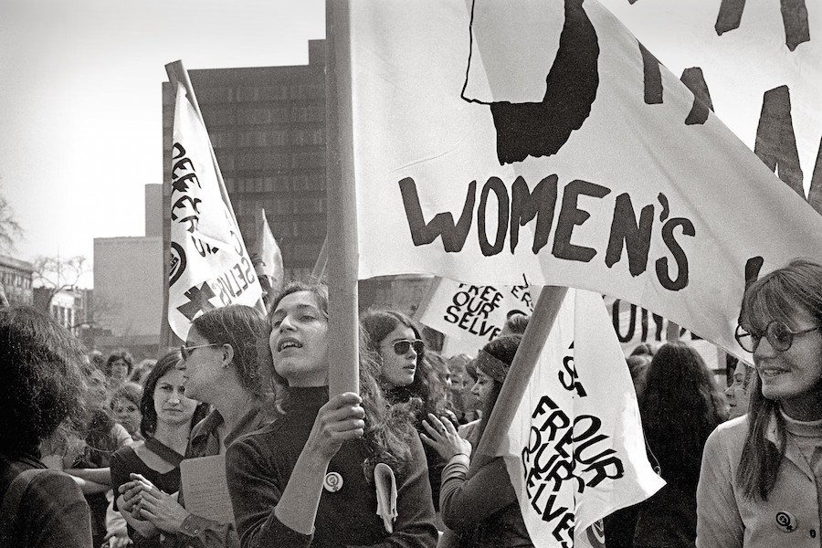 Friedan inspired a wave of feminism and led many marches, including the Women's Strike for Equality.