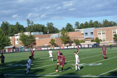 Boys soccer falls to LS on senior night