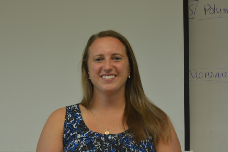 Image of new Biology teacher Sara Piper