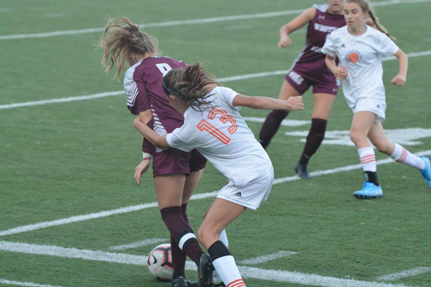 Girls' Varsity Soccer suffers loss at game dedicated to former coach Jeff Haight