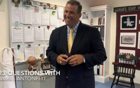 23 Questions with Principal James Antonelli | WA Ghostwriter