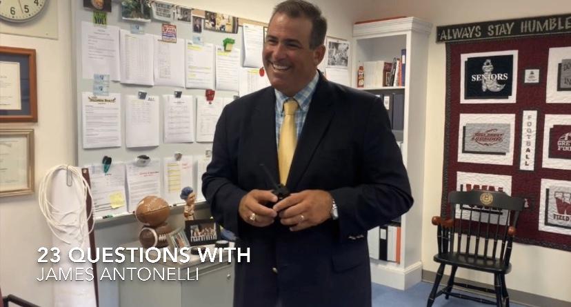 Mr. Antonelli answering a question