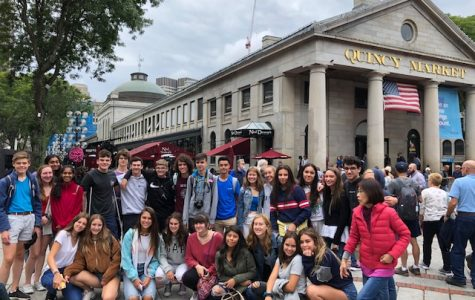 Spanish exchange students visit Westford Academy