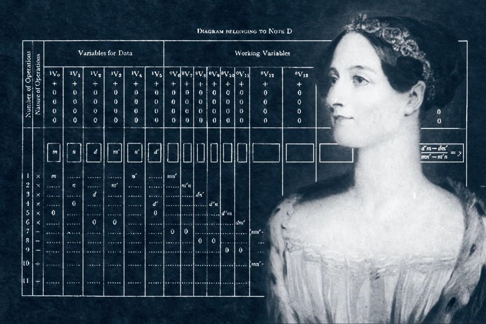 Using her knowledge regarding mathematics, Ada Byron created the first computer program.
