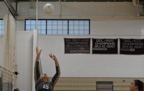 WA Girls' Volleyball defeats Newton-South 3-0