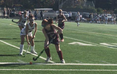 Girls' Field Hockey won the last game of the season against CC