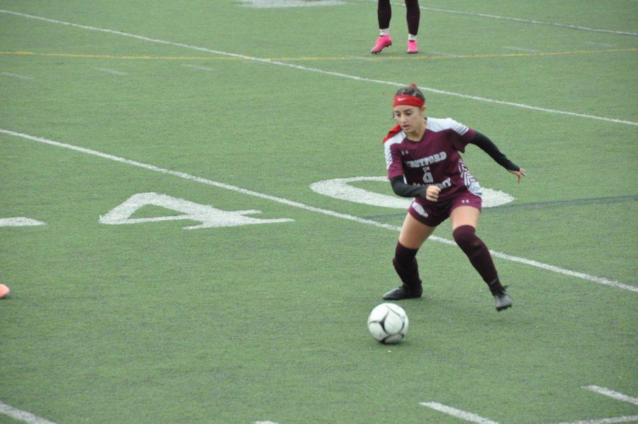 Paglia in possession of the ball