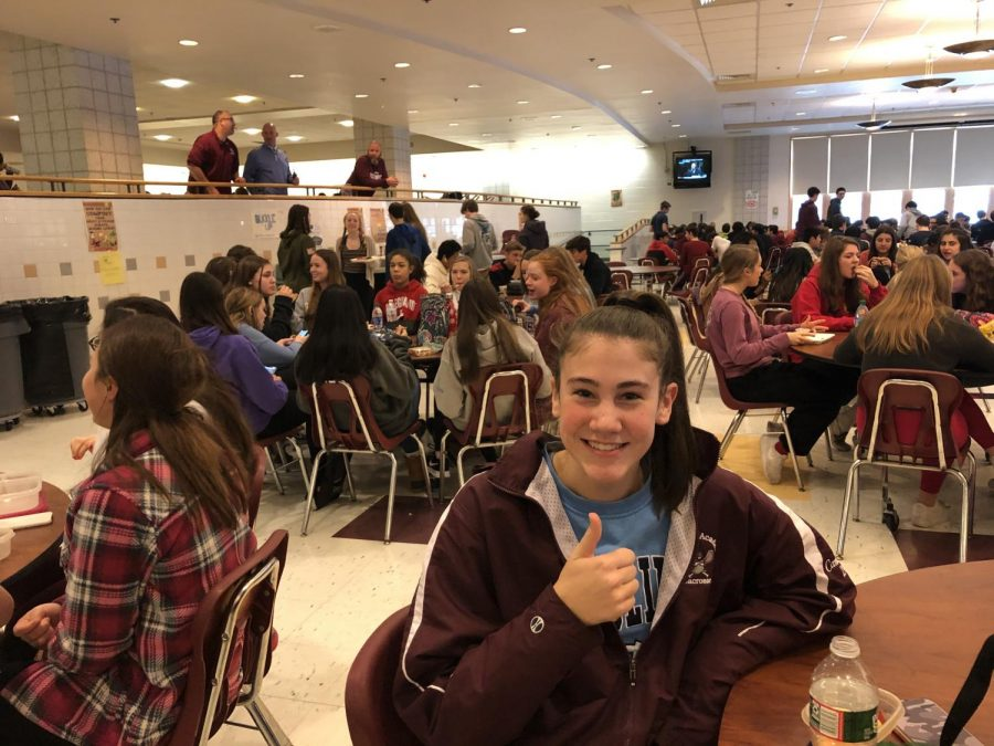 Do you think this is this an effective way to raise money? Junior Sara Cannuscio: