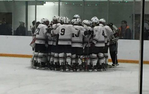 Boys' Hockey wins first game of season