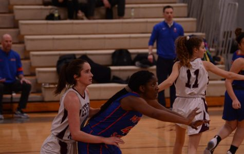 WA girls' basketball crushed in a game against Newton South