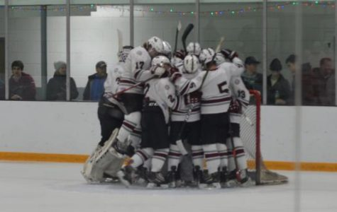 Boys' hockey triumphs in first game of season
