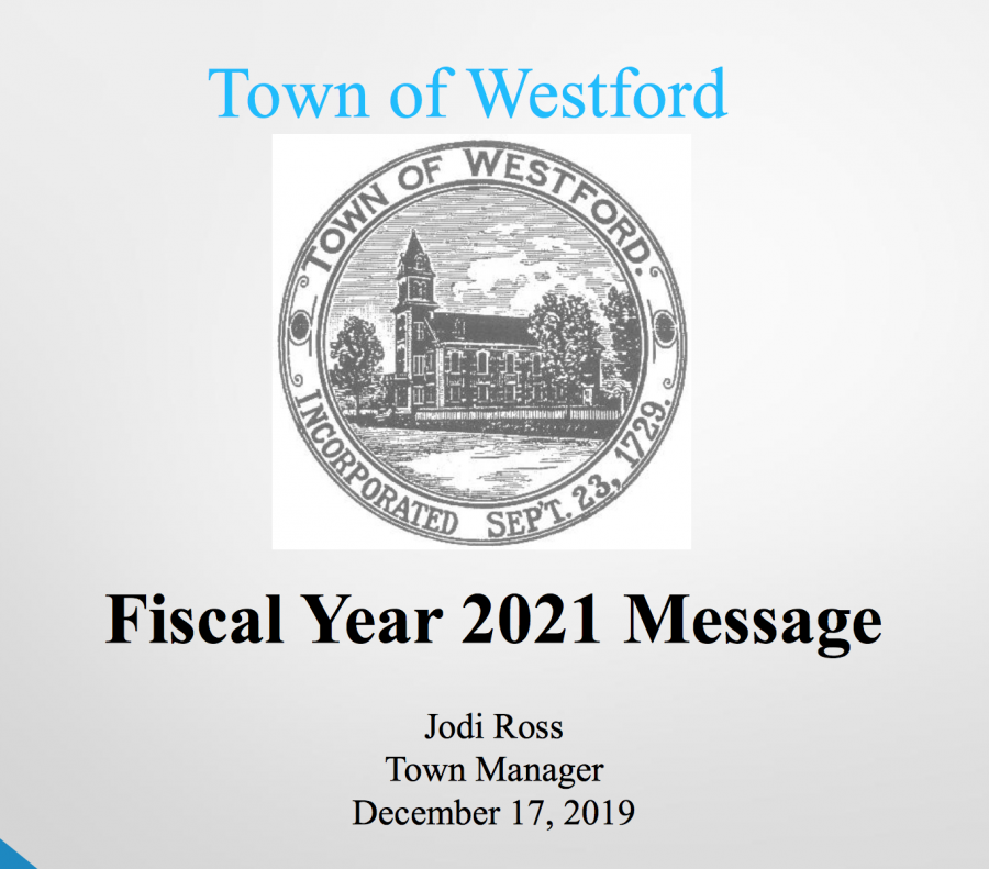 On+12%2F17%2C+the+Town+Manager+and+Board+of+Selectmen+presented+the+town+budget+and+opened+the+forum+for+community+input.