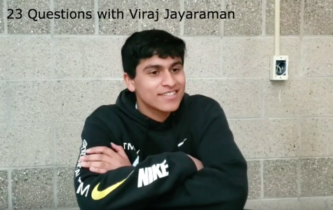 23 questions with junior class president Viraj Jayaraman