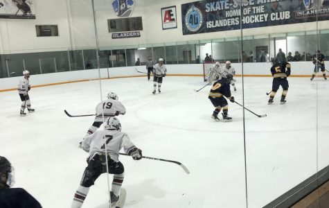 Boys' Varsity Hockey defeats Andover 9-2
