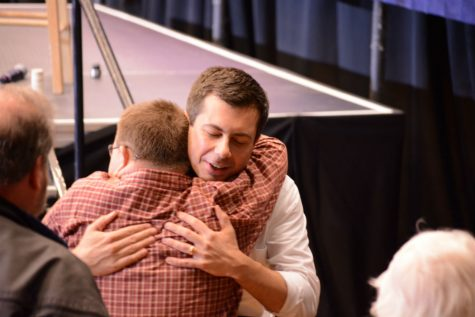"Pete Buttigieg: ""My goal is to be part of an effort to create a more unified, welcoming nation. [...] When I talk about love of country, I'm talking about a sense of loving in our country that begins with the simple fact that our country is made of people. You cannot love a country fully if you hate half the people in it."""