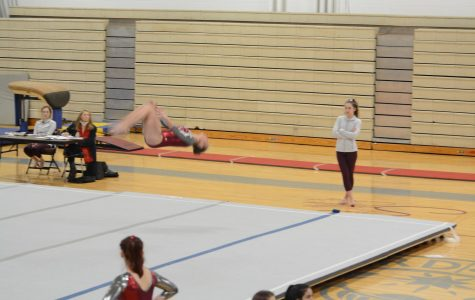 WA Gymnastics' first meet begins the season with a loss