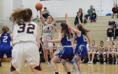 WA Girls' Basketball defeats Bedford 52-25