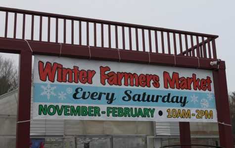 Winter Farmers' Market offers a variety of stalls