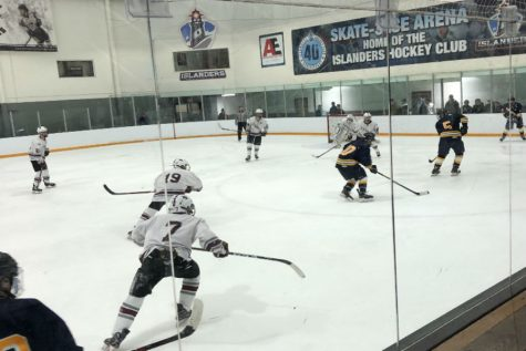 WA Girls' Varsity Hockey trumped by Andover
