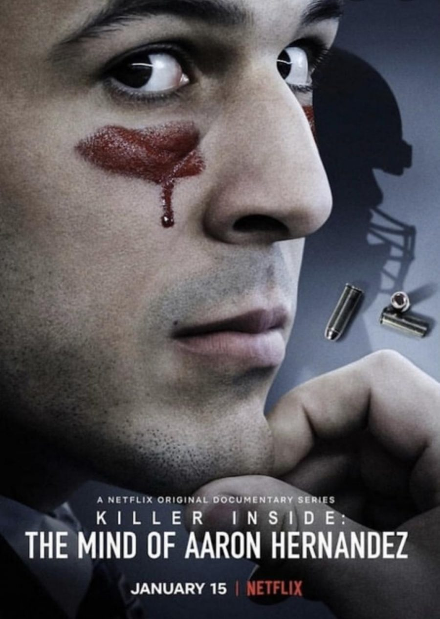 Netflix's poster for Killer Inside: The Mind of Aaron Hernandez