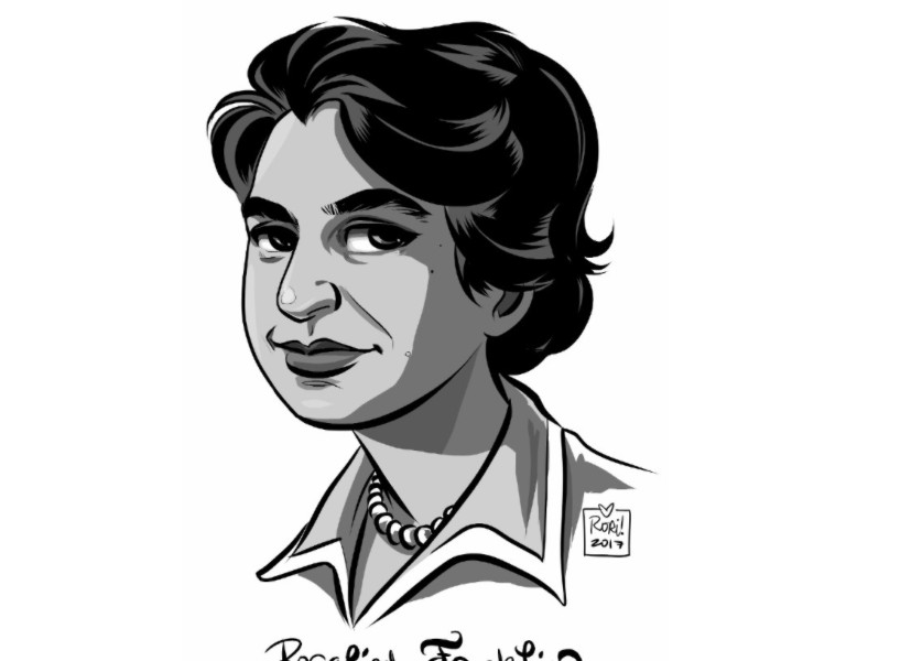 Rosalind+Franklin+dedicated+her+life+to+science%2C+and+was+instrumental+in+the+discovery+of+DNA%27s+helical+structure.+But%2C+she+was+repaid+by+having+her+influence+erased+and+her+work+attributed+to+James+Watson+and+Francis+Crick.