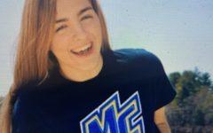 Kayla Stone swims to Merrimack
