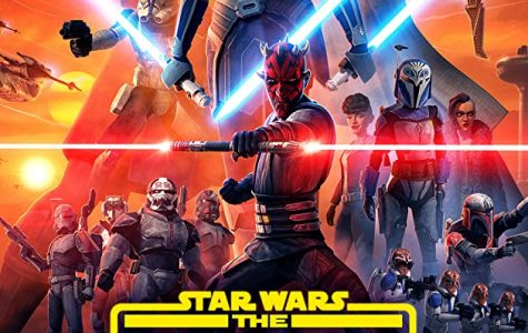 Poster for season 7 of  Star Wars : The Clone Wars