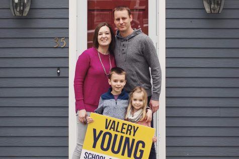Valery Young runs for school committee position with fresh ideas