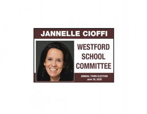 Jannelle Cioffi vouches for student education in run for school committee position