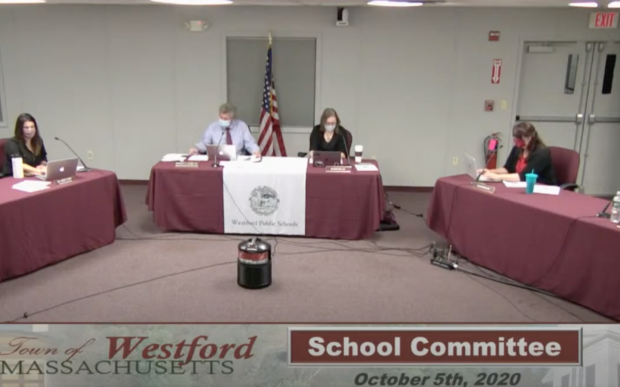 10/5 school committee meeting details transparency and COVID-19 procedures