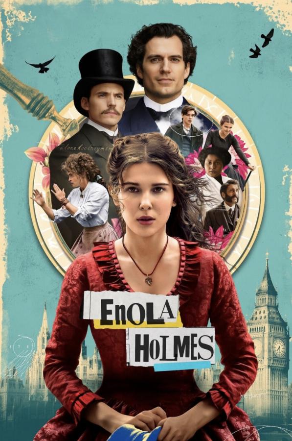 Millie Bobby Brown stars as Enola Holmes along side a phenomenal cast.