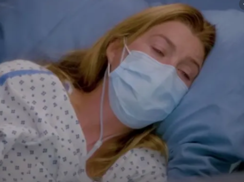 Meredith Grey fights COVID.