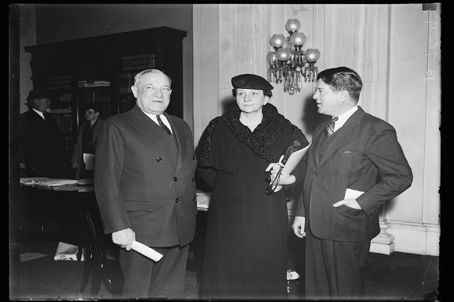 As Secretary of Labor, Frances Perkins worked with numerous influential politicians including President Franklin Delano Roosevelt.