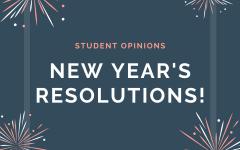 Soundbytes: students make new year's resolutions