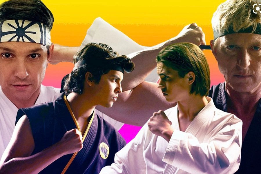 The feud continues between LaRusso and Johnny.