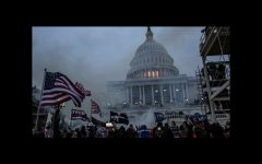 The Capitol Building during the riot. The incident took place on January 6, 2021.