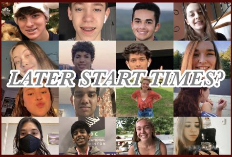 Soundbytes: students share opinions on proposed later start times