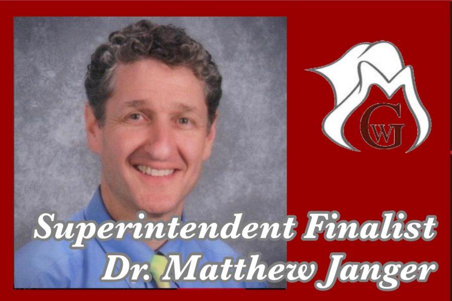 Superintendent Finalist Dr. Matthew I. Janger