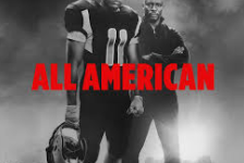 All American poster features characters Spencer James and Billy Baker.