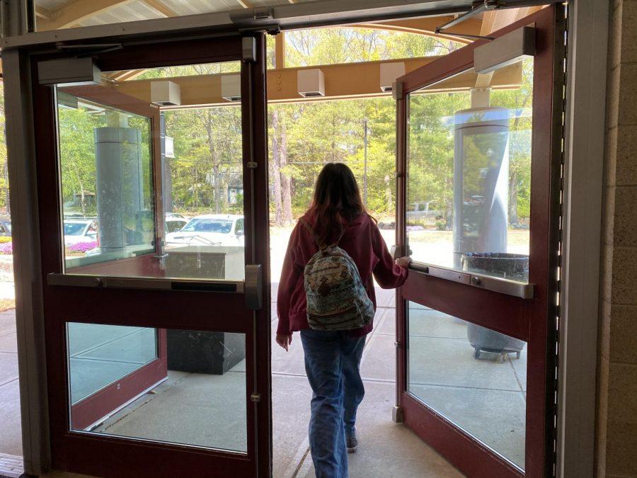 WA student walks out of WA.