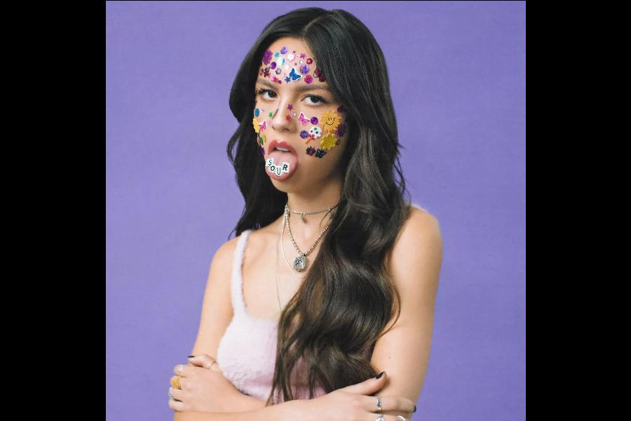 The+album+cover+of+%27SOUR%27