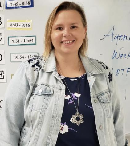 The 2021-2022 school year marks Jennifer Schelin