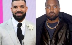 Kanye West and Drake battle for the Billboard Top 100.