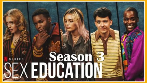 Promotional poster for season 3 of Netflixs Sex Education.